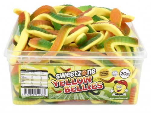 Sweetzone 20p Yellow Bellies Full Tub 30 Pieces